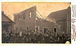 The Manly printing press for the Wilmington Record was destroyed during the 1898 Wilmington Race Riot.