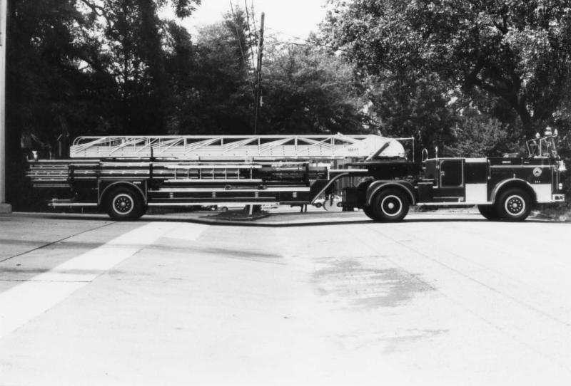 1963 Seagrave fire truck
