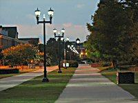 Chancellor's Walk on the UNCW campus