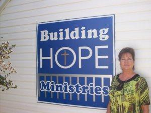 Donna Phelps, director of Building Hope Ministries