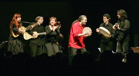 L'Arpeggiata is a baroque music ensemble founded in 2000 and directed by Christina Pluhar.