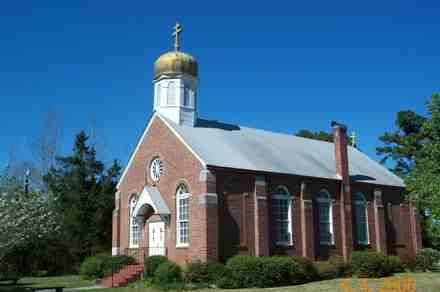 Sts. Peter Peter and Paul Russian Orthodox Church in St. Helena, near Burgaw