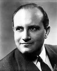 Leonard Warren (1911-1960), famous  baritone for the Metropolitan Opera in New York.