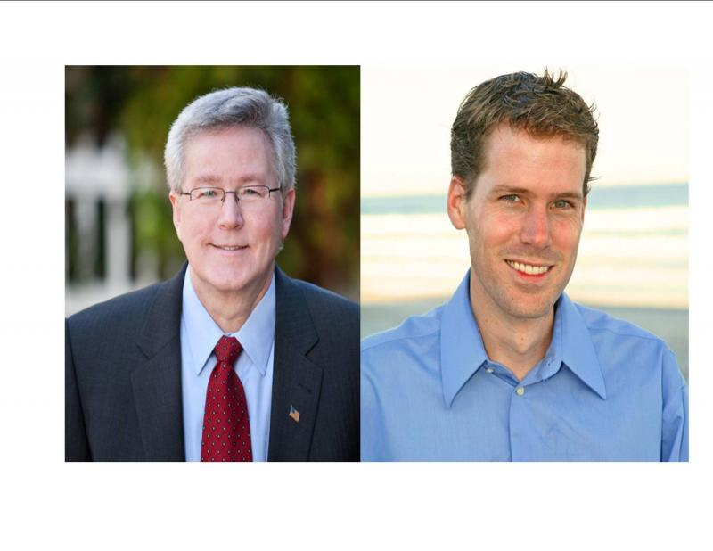 Candidates for State House District 20:   Rick Catlin (R), Tom Gale (D)
