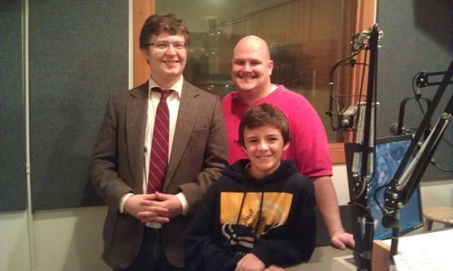 Garrett Thompson, Mike Thompson, and Aidan Malone