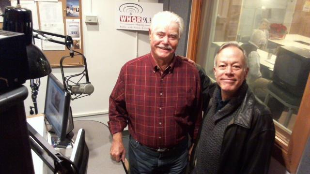 My guests Joe Gallison (left) and Tom Briggs (right)