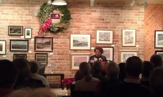 "Nan Graham tells her story ""Countdown to Christmas"""