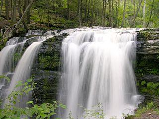 Fulmer Falls, Pocono Mountains