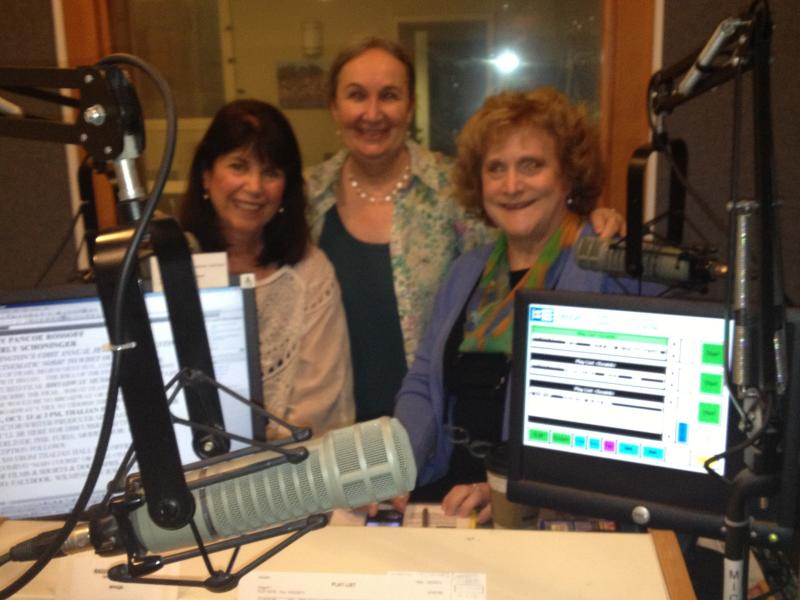 Beverly Schoninger (left), Jemila Ericson (center), and Peggy Pancoe