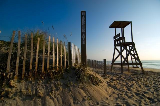 Lifeguard Stand near Carolina Beach Dunes