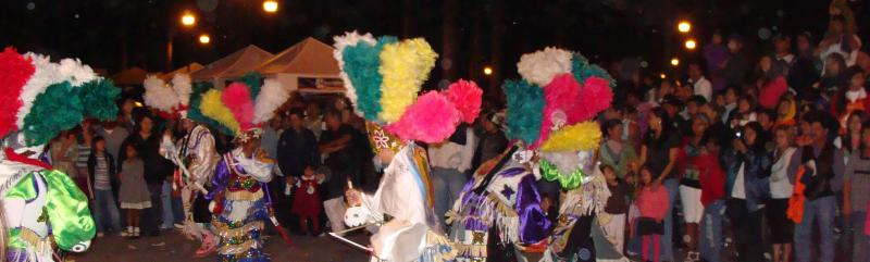 Aztec dancers graced last year's Festival Latino.