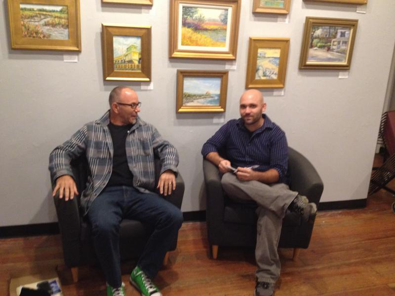 Bound By Sea, the Filmmakers in the MC Erny Gallery at WHQR