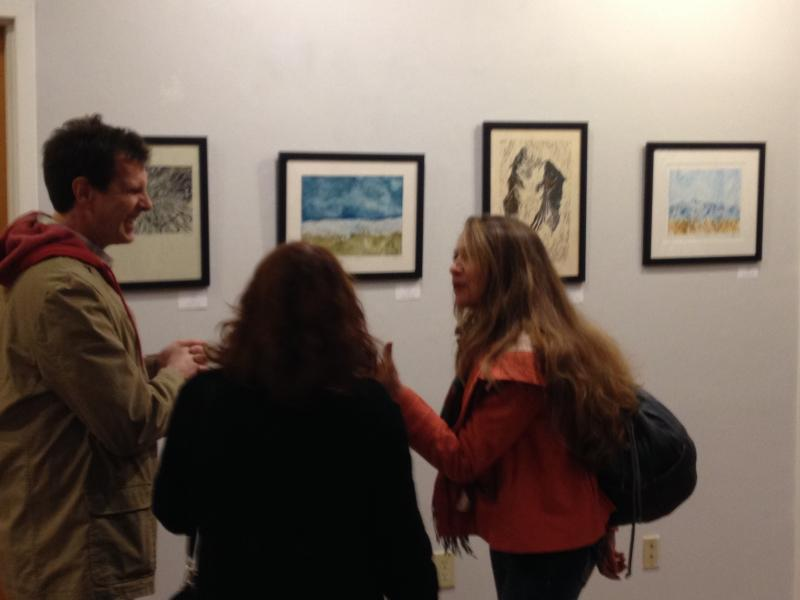 The Opening Reception on Dec. 27th