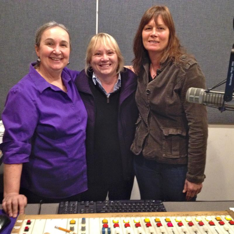 Ericson, House, and Bourne at WHQR