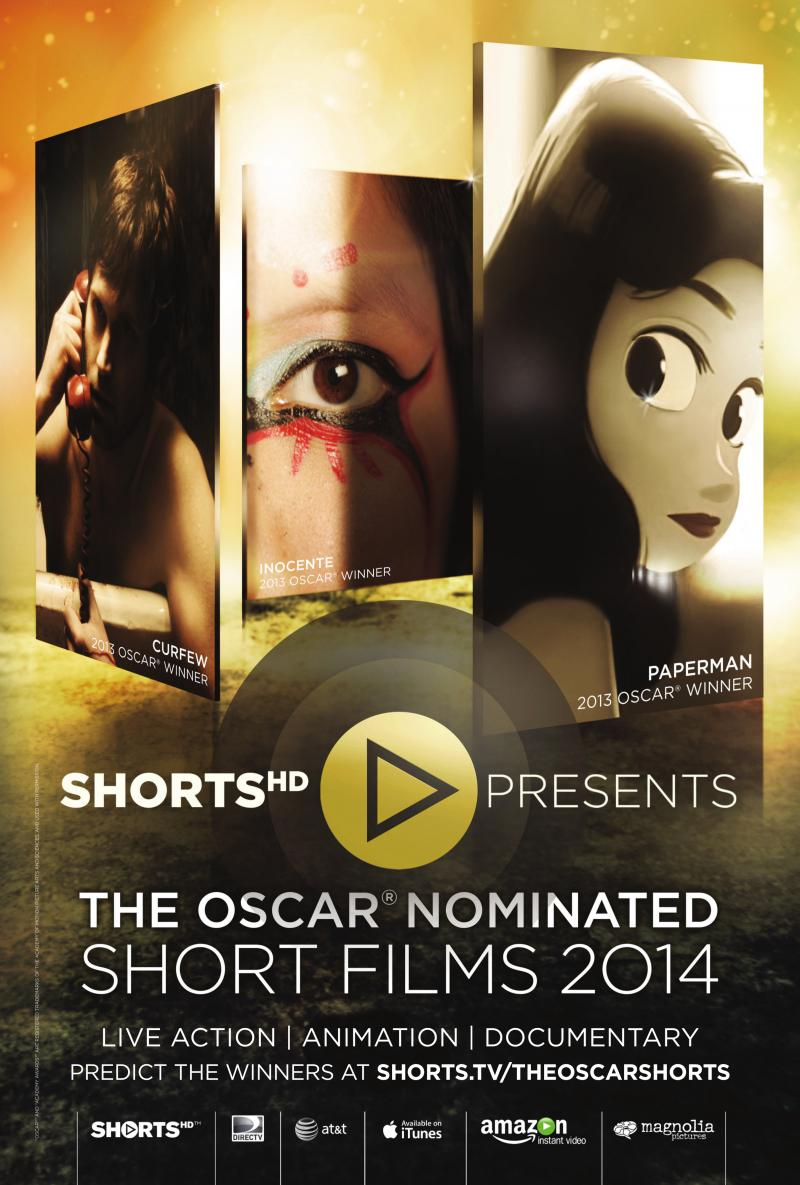 Official Oscar Shorts Poster