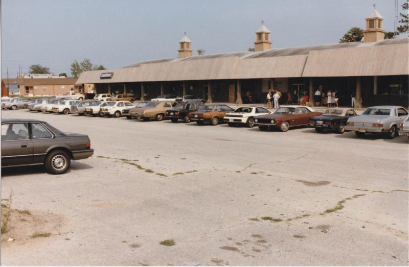 The Greenfield Street strip mall WHQR once called home
