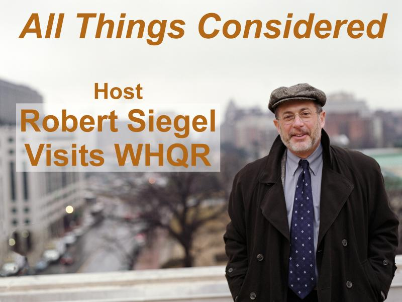 All Things Considered Host Robert Siegel