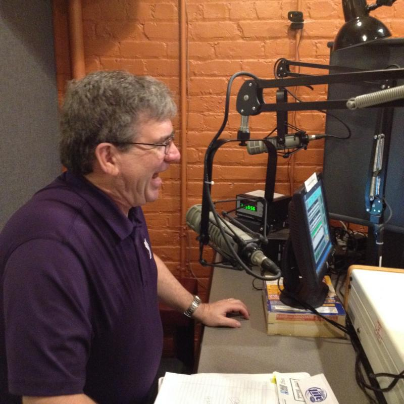 Lamont in-studio at WHQR