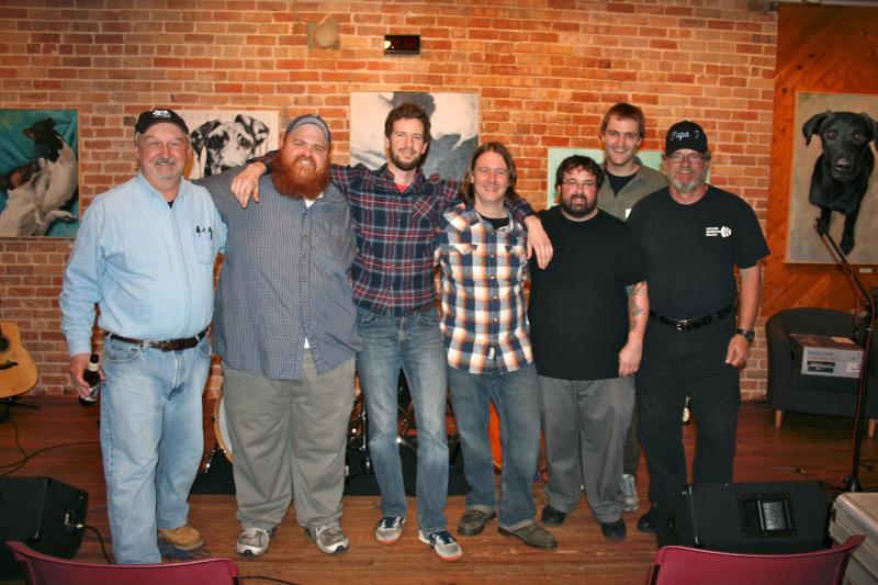 The STNL team with Mac & Juice Quartet!