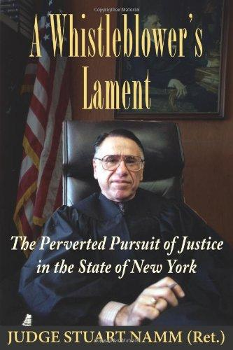 "The cover of ""A Whistleblower's Lament"""