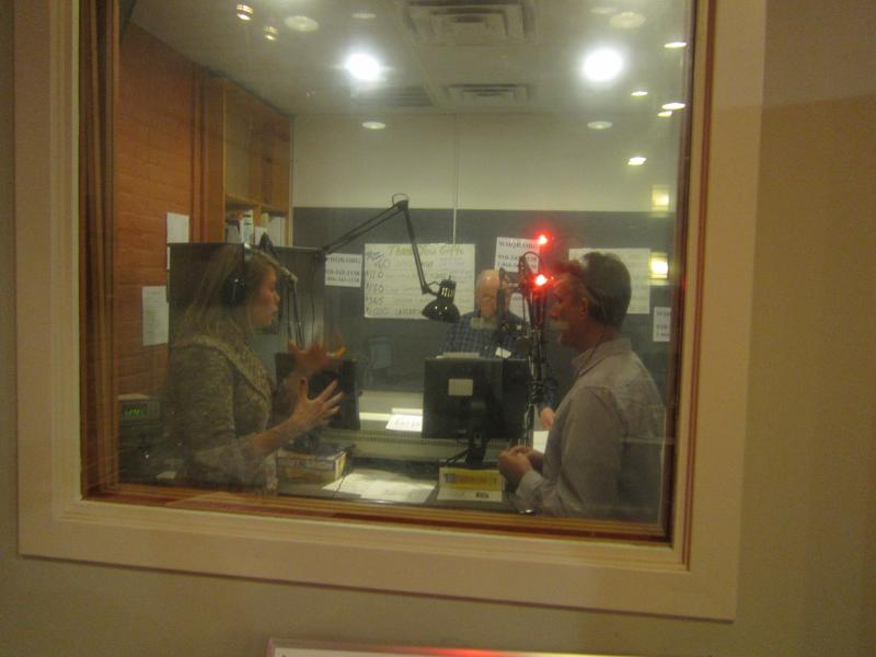 Studio 1 during the drive