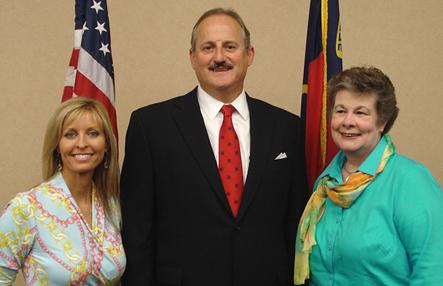 Pictured left to right: Marlene Mitchell, NHC Board of Elections Secretary; John Ferrante, Chairman; and Tannis Nelson, Member.