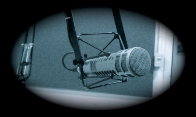Microphone at WHQR