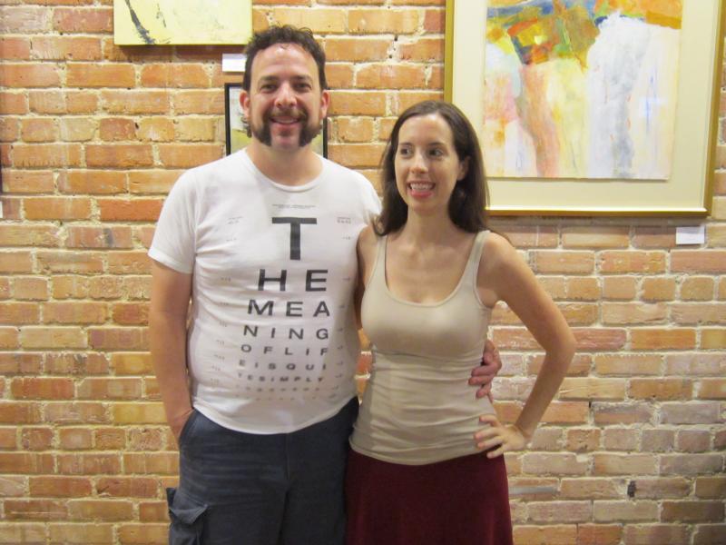 Randy Davis and Vanessa Welch