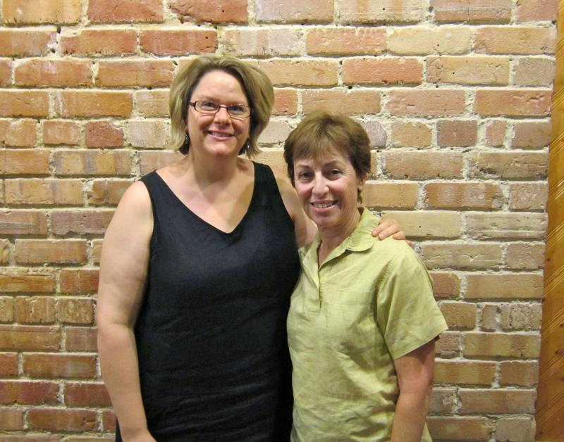 Nancy King and Wendy Fingerhut