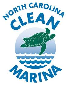 North Carolina Clean Marinas are eligible to fly the Clean Marina flag and use the logo in their advertising.