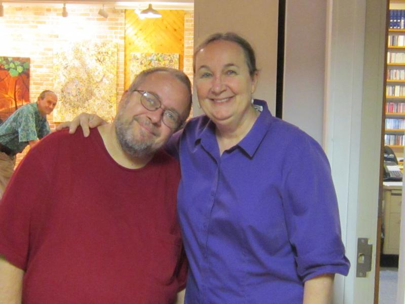 Steve Vernon and Jemila Ericson