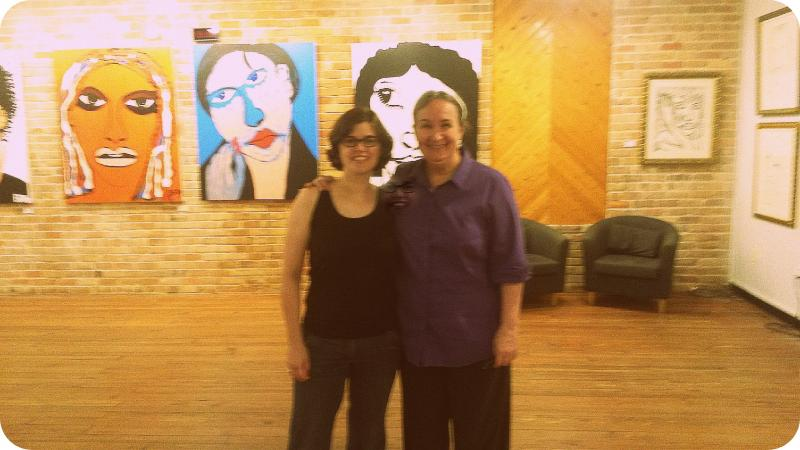 Shona Thomson and Jemila Ericson
