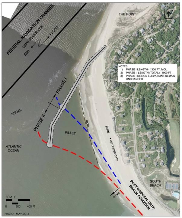 Imaging for the Bald Head Island Shoreline Stabilization Project, Including Phases 1 & 2 of the Terminal Groin Construction