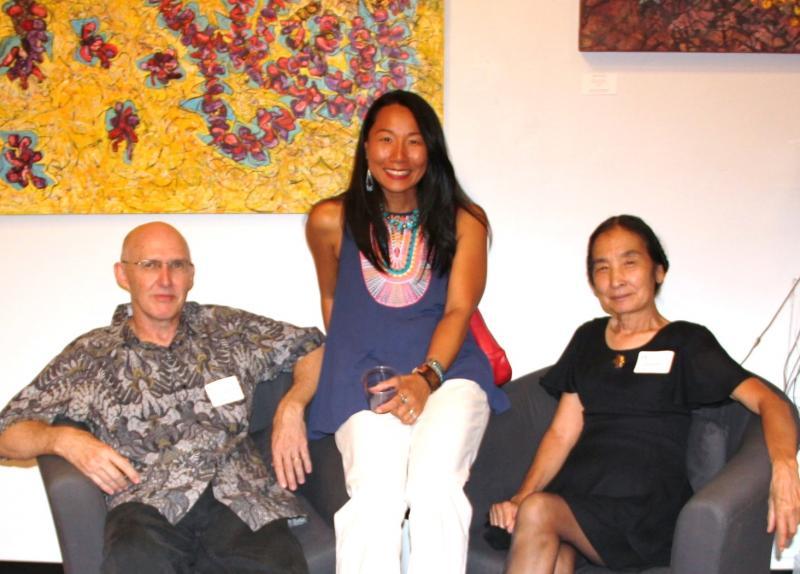 Randy McNamara, Eunkyung Kim Cazier, Mio Reynolds