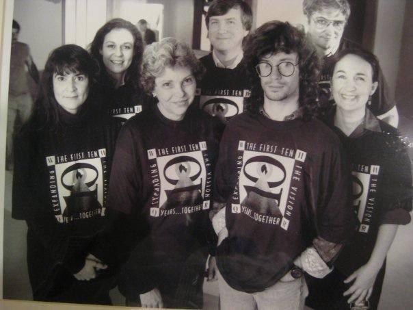 Left to Right: Aileen LeBlanc, Beth Becka, Virginia Hardy, Sam Burke, Jim Trimble, Michael Titterton, Jemila Ericson