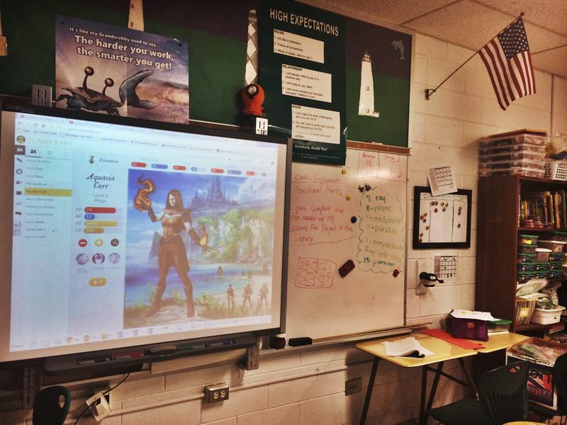 Classcraft is a part of Brian Toth's classroom.