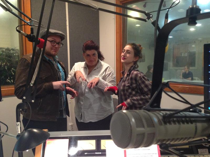 Jake Stewart, Chandler Davis, and Alissa Fetherolf