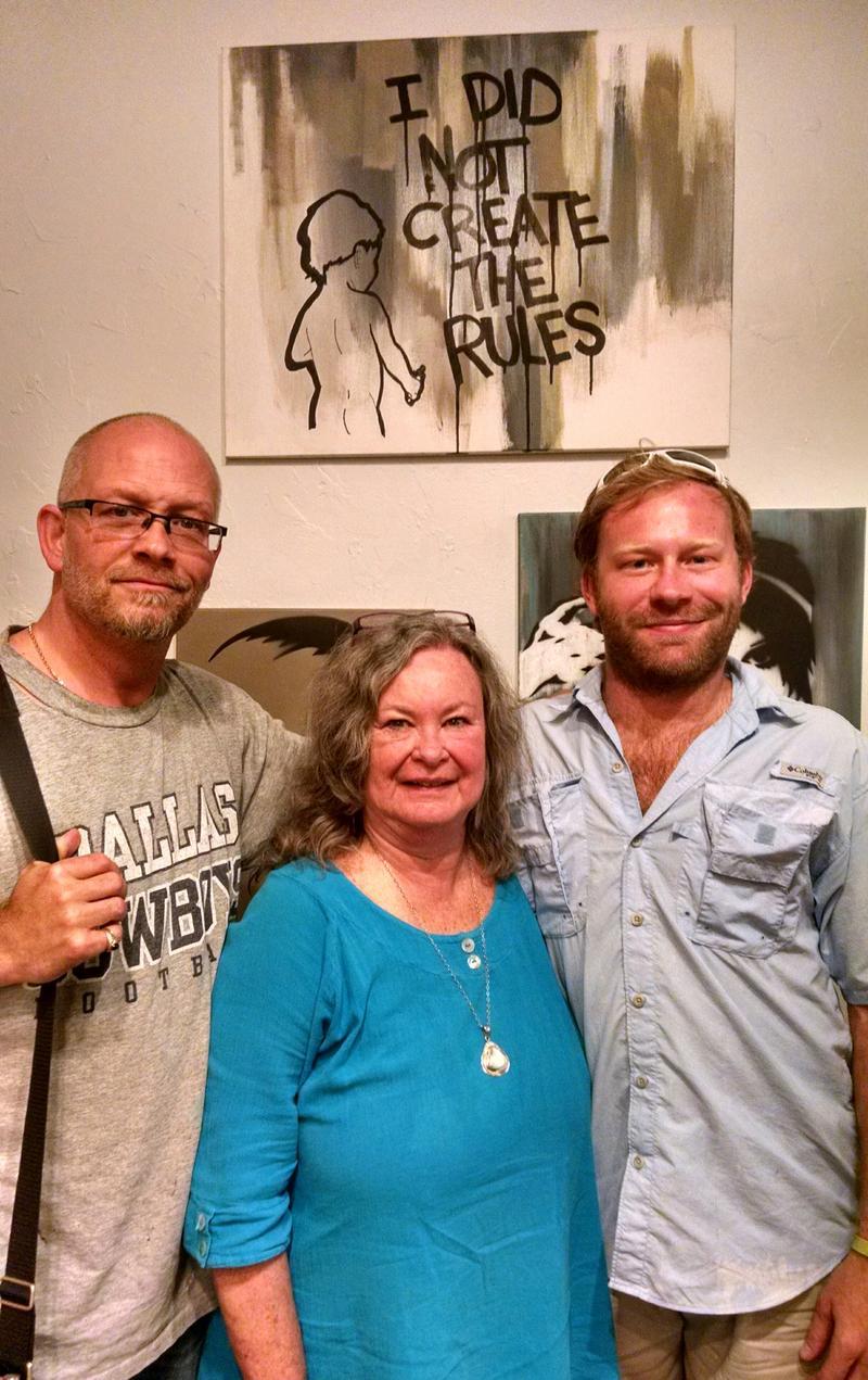 J.R. Rodriguez, Deb Bowen, Hal Cosec