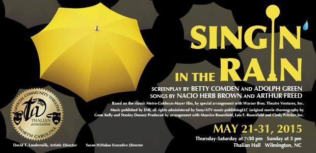 """Singin'"" Show Poster"