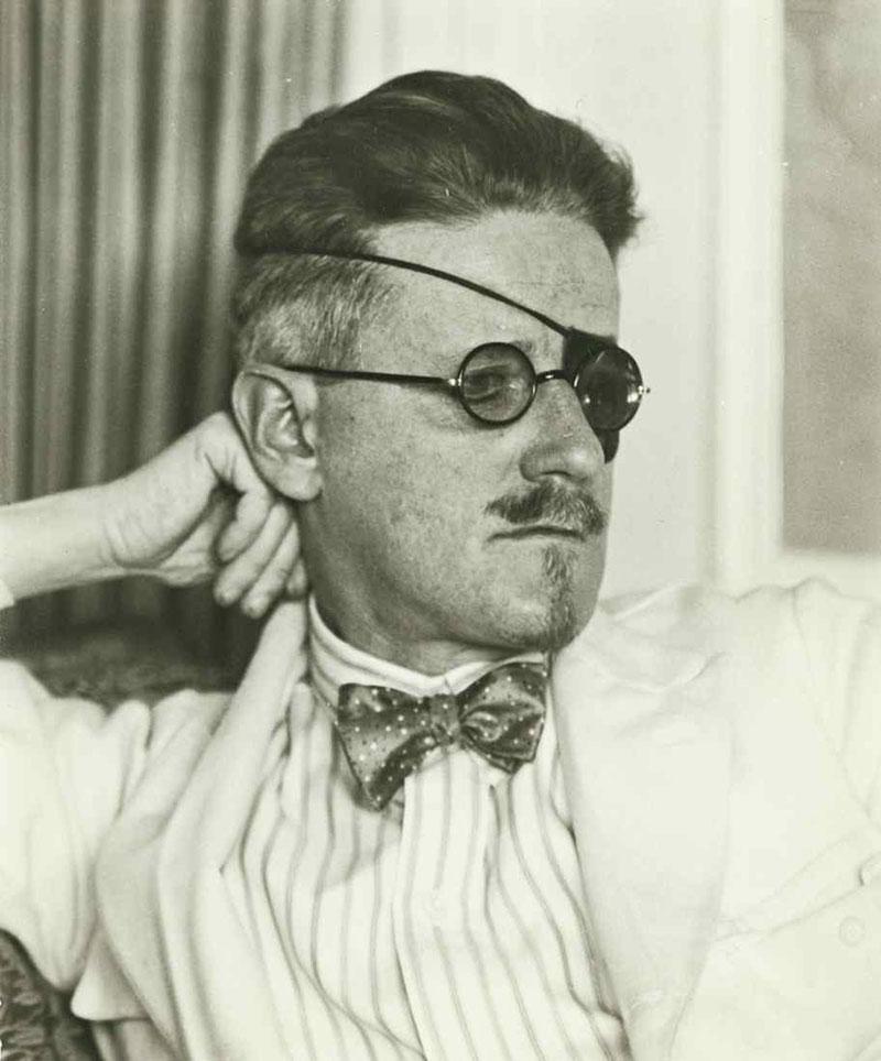Author James Joyce