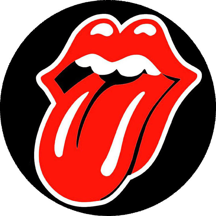 """Tongue and Lip Design"" Logo for The Rolling Stones by John Pasche"