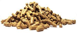 wood pellets