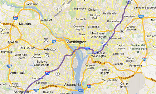 Washington D.C. Map