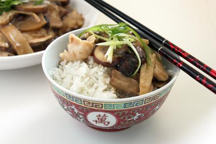 Chicken Moo Goo Gai Pan