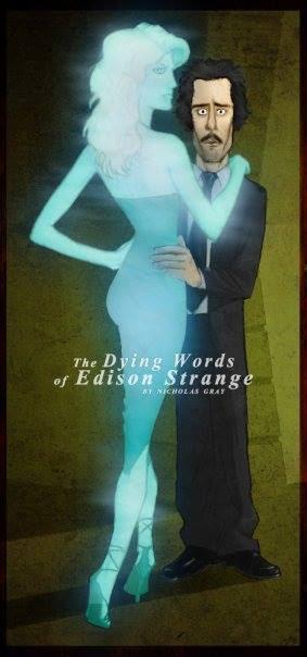 "Title art for ""The Dying Words of Edison Strange"""