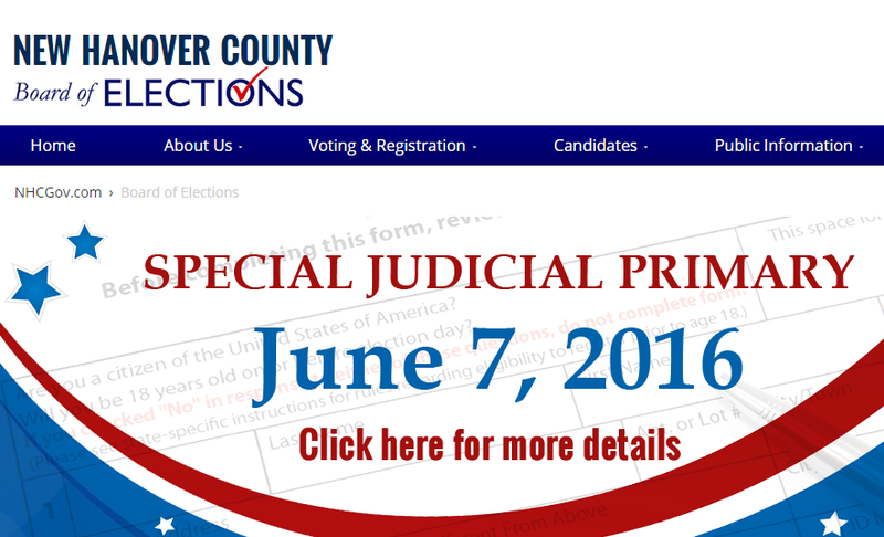 New Hanover County Board of Elections | WHQR
