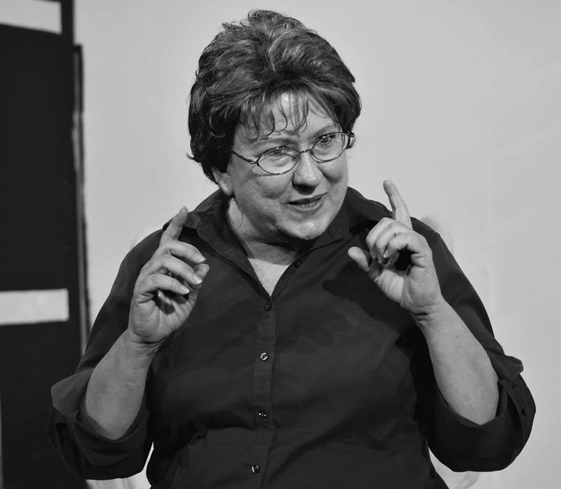 Holli Saperstein plays Dr. Ruth Westheimer