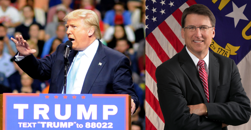 Donald Trump & Governor Pat McCrory