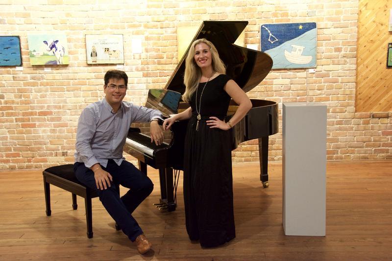 Azamat Sydykov & Nikoleta Rallis at WHQR