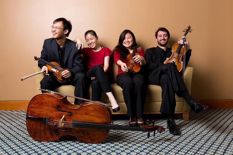 Zorá String Quartet: Dechopol Kowintaweewat, violin; Zizai Ning, cello; Seula Lee, violin; Pablo Muñoz Salido, viola